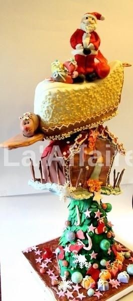 17 best images about gravity defying cake on pinterest - Gravity cake noel ...
