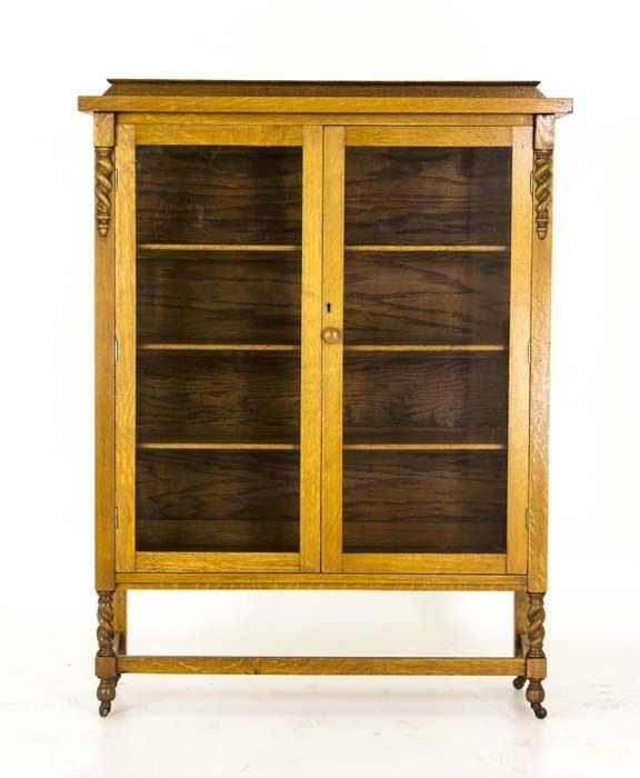 Antique Display Cabinet | Vintage China Cabinet | Oak Display Cabinet | B735 - Best 25+ Antique Display Cabinets Ideas On Pinterest Grey