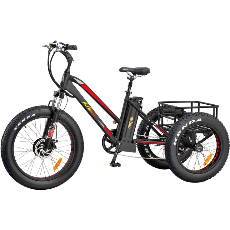17 best electric fat tire trike adult tricycle green apple. Black Bedroom Furniture Sets. Home Design Ideas