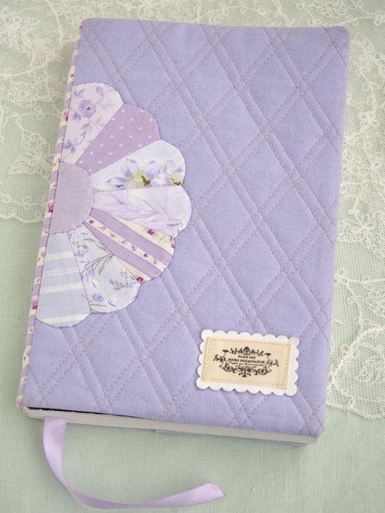 a custom slip cover for a novel - Pretty by Hand
