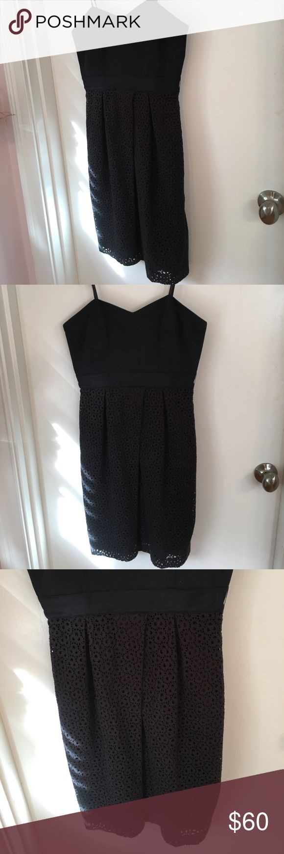Black Spaghetti Strap Lace Laundry Dress In great pre-owned condition. No trades. Reasonable offers only Laundry by Shelli Segal Dresses Midi