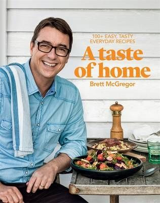 Masterchef winner Brett McGregor has released his new cookbook 'A Taste of Home' with lots of family-friendly meals.