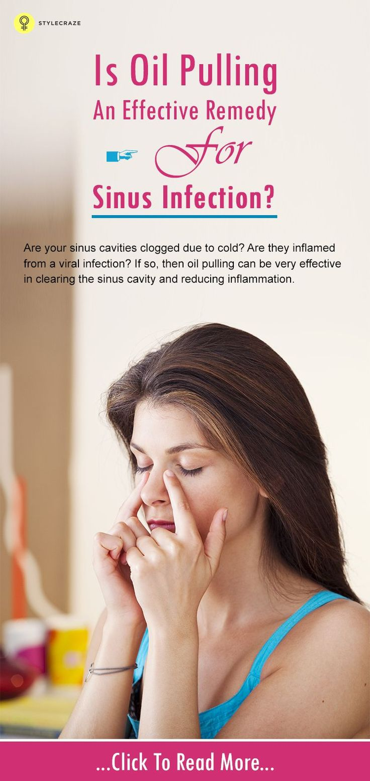 Traditional medicine is in a hurry to help with sinusitis
