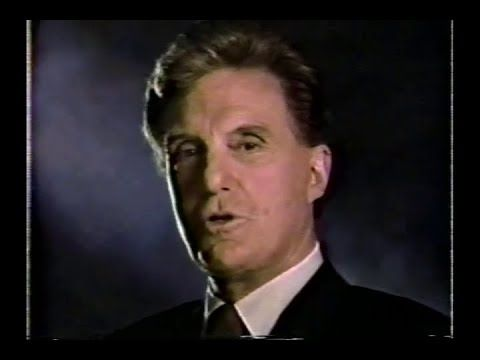 Robert Stack of Unsolved Mysteries sells VCRs for Fretter (1988) #vintageads #Ads #vintage #PrintAd #tvads #advertising #BrandScience #influence #online #Facebook #submissions #marketing #advertising
