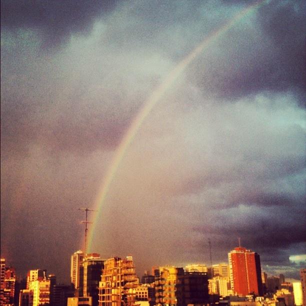 #instagram #igersbsas #fotos #argentina #rainbow #arcoiris buenos aires ahora! - @faustosalazar- #webstagram