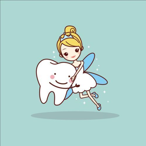 Cartoon tooth fairy vector material 01 - www.welovesolo.co...