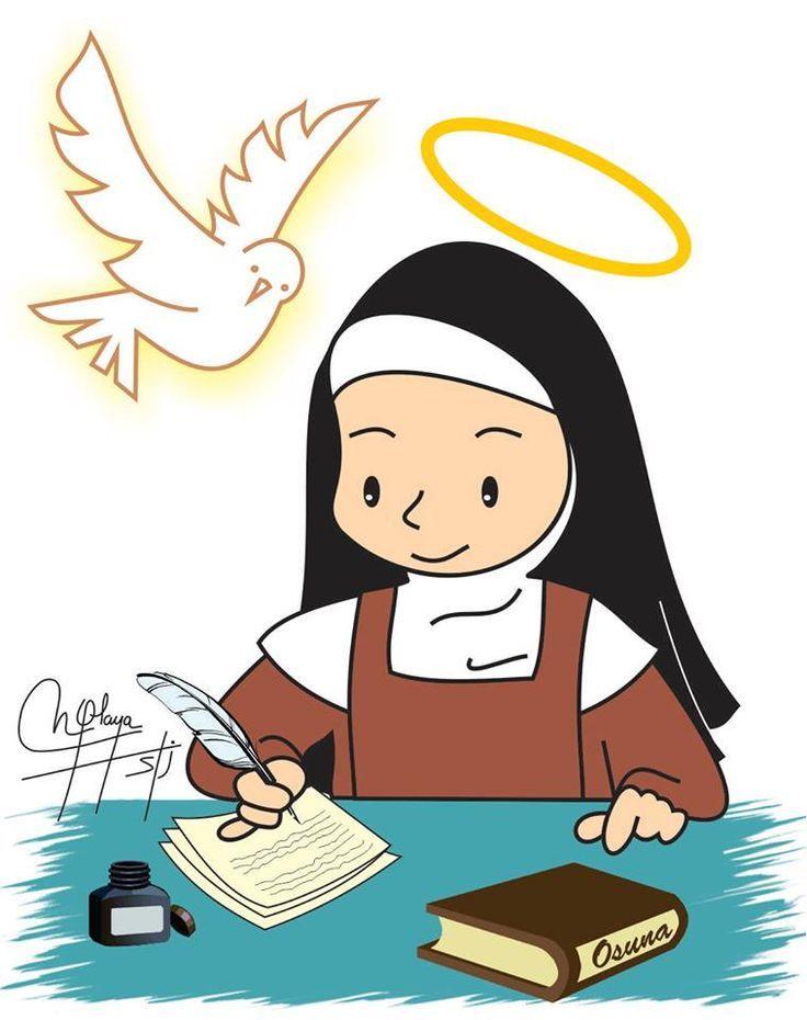 Teresa escribiendo