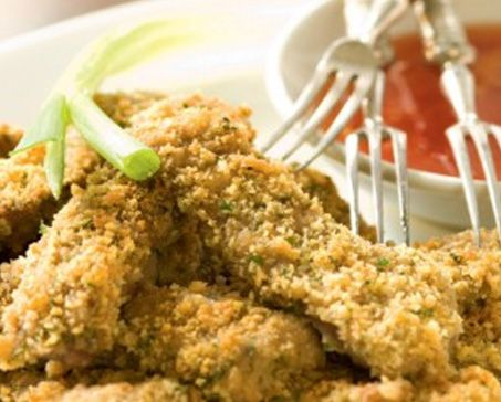 CRUMBED BEEF STRIPS WITH TOMATO & CHILLI JAM – Bakers