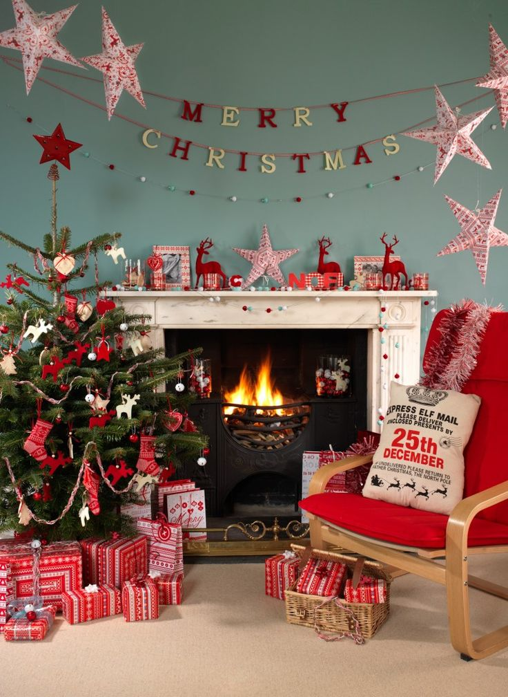 Nordic themed Christmas, Ideas and inspiration to decorate your home in a Nordic Theme this year.