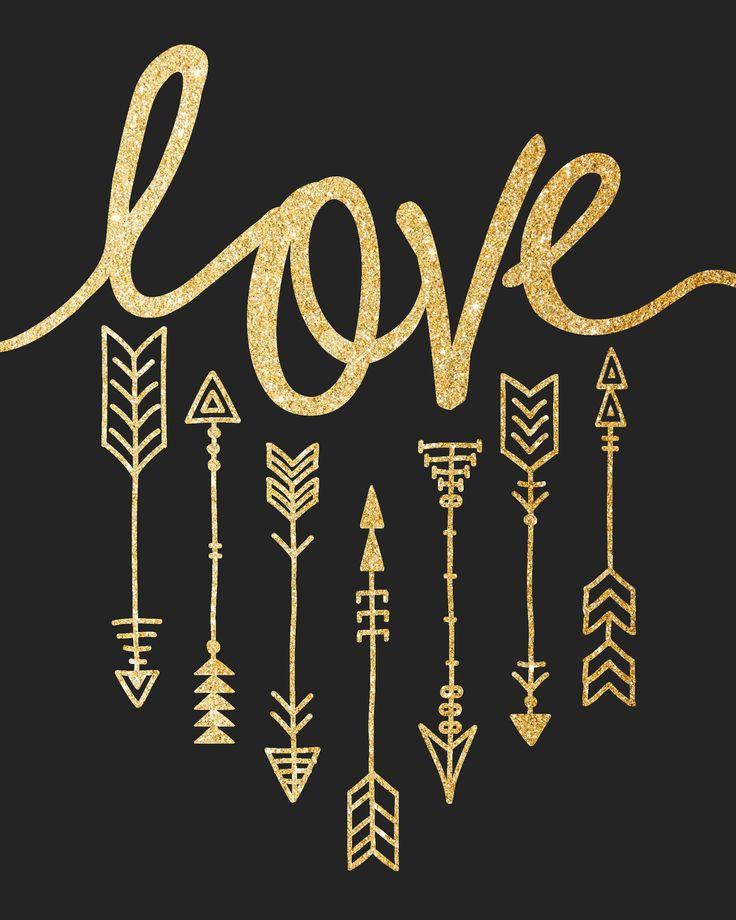 Hermoso oro con negro..love