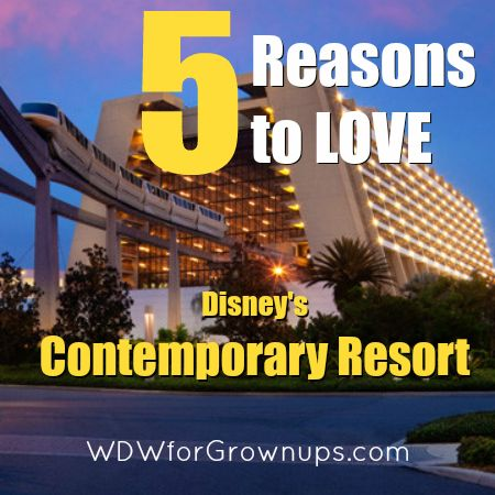 Disney's Contemporary Resort is not only one of the original Walt Disney World Hotels, but it remains one of the premier destinations for Disney travelers both staying at the property or just coming for a visit.