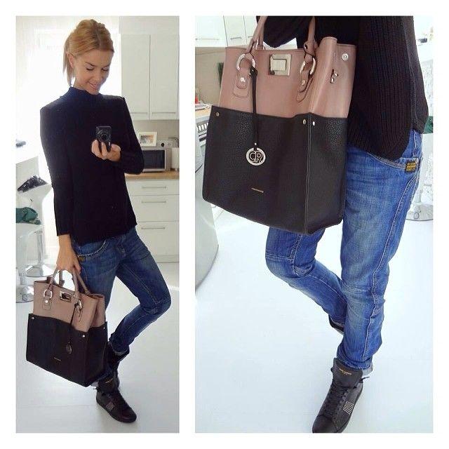.@Regina Dukai | Saturday Look Jumper: Zara, Denim: G-Star, Bag: Cango&Rinaldi, Shoes: YS... | Webstagram