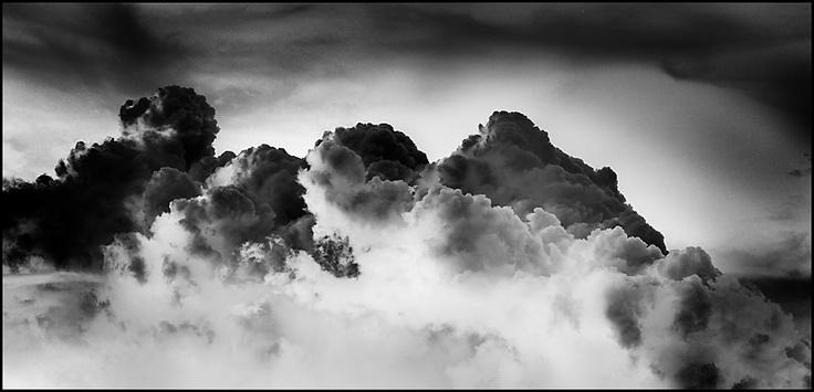 Storm black and White by Roger Llabrés