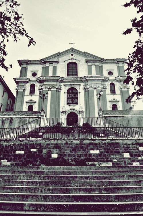 Santa Maria Maggiore, Trieste, Italy*** My parents got married in this church and I was baptized there.