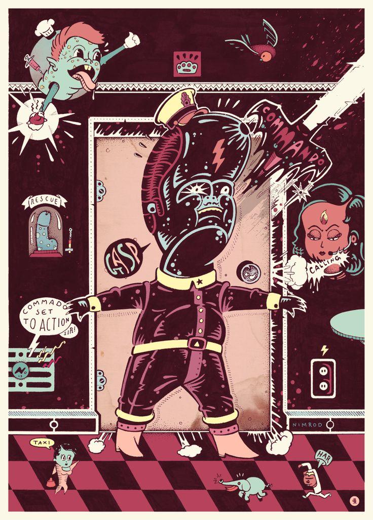 Satanville, Page 4 by 1upNimrod.deviantart.com on @deviantART