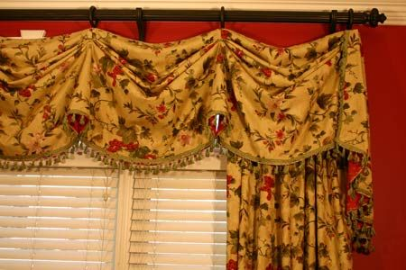 Catherine Curtain Valance Sewing Pattern Valance Patterns Curtain Sewing Pattern Curtains