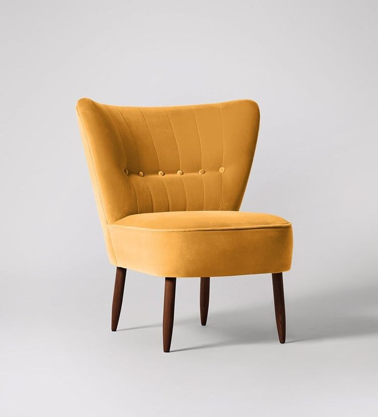Fitz Chair - Swoon Editions £369 in orange