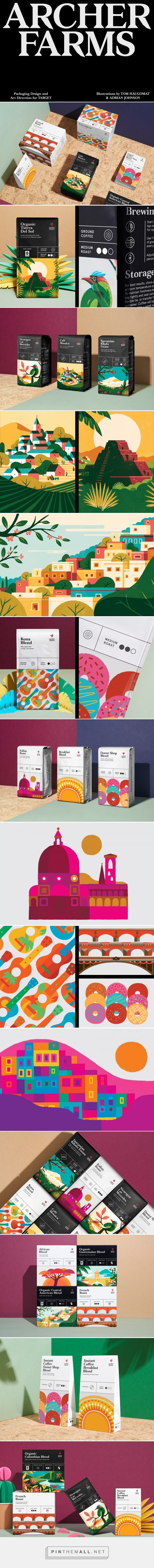 Archer Farms Coffee packaging design by Collins - http://www.packagingoftheworld.com/2017/01/archer-farms-coffee.html