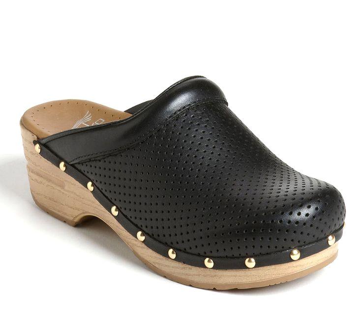Dansko mules women clogs in black Vegan - Italian Boutique €111