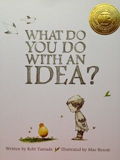 What Do You Do with an Idea? A wonderful, wonderful book! This post by Andrea Knight from Creating Readers and Writers is filled with great ideas for using this book in the classroom. It would also be the perfect gift for encouraging those in your life to embrace and nurture their ideas, dreams and inspiration!