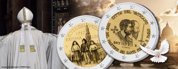 Vatikan 2 Euro Gedenkmünzen 2017 - Themen, Motive, Informationen