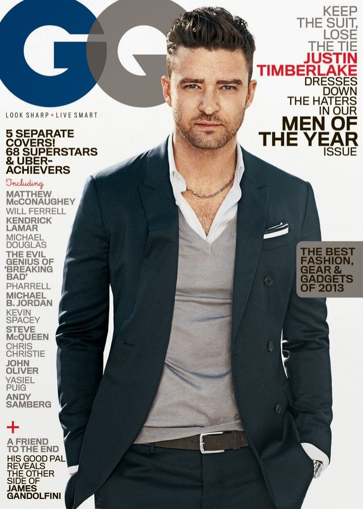 GQ USA despide el 2013 con los hombres del año en cinco portadas distintas | Male Fashion Trends