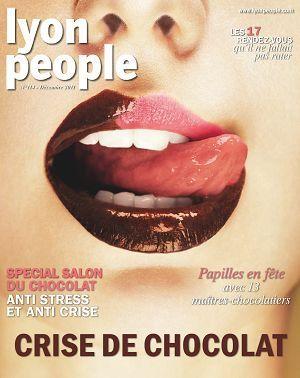 Lyon People n°114 Décembre 2011 Salon du chocolat