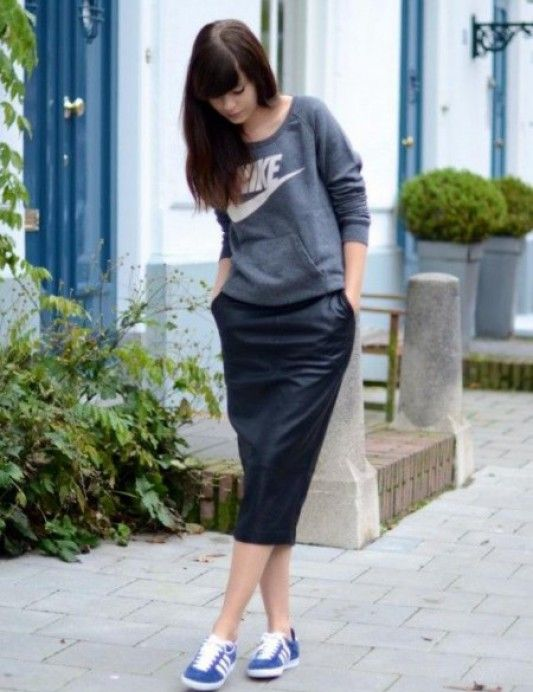 adidas gazelle femme porté