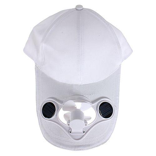 2017 new Summer Unisex Baseball Cap Outdoor Sport Polyester Snapback Hat Solar Sun Power Cool Fan For Golf Camping Sun Caps