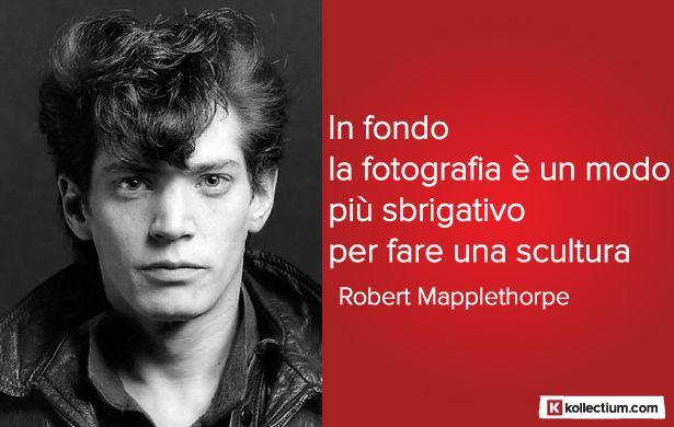 #Citazione di Robert #Mapplethorpe