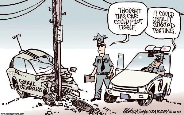 Car Humour | Car humor, Self driving, Connected car
