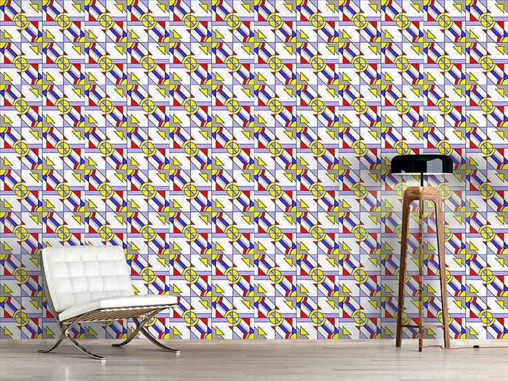 80 besten designtapeten sechziger bilder auf pinterest design tapeten blumen und chevron. Black Bedroom Furniture Sets. Home Design Ideas