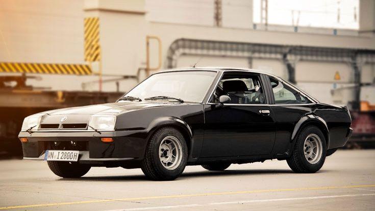 """Er ist eine Legende auf Deutschlands Straßen: Der vom Fahrzeugtuner Irmscher umgebaute Erstserien-B-Manta wurde nur 27-mal gefertigt und ist der """"Chuck ..."""