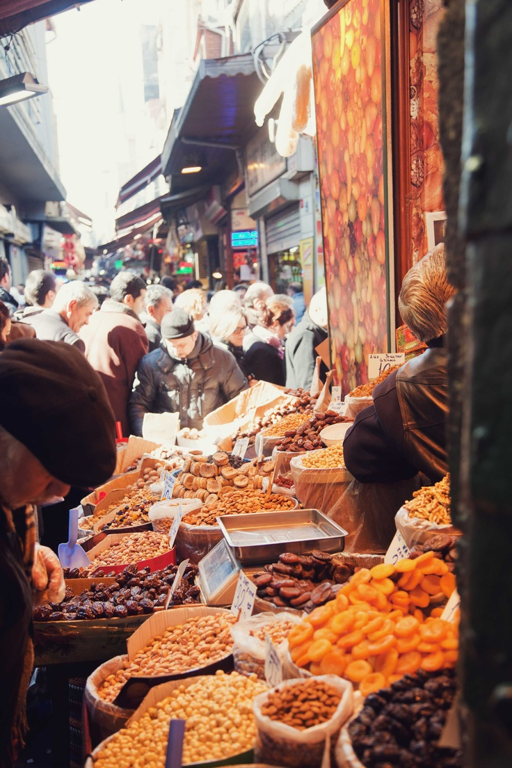 A visit to a Turkish spice market is the perfect way to pick up holiday souvenirs