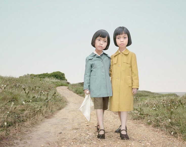 By Loretta Lux - love the colors and the ominous vibe.