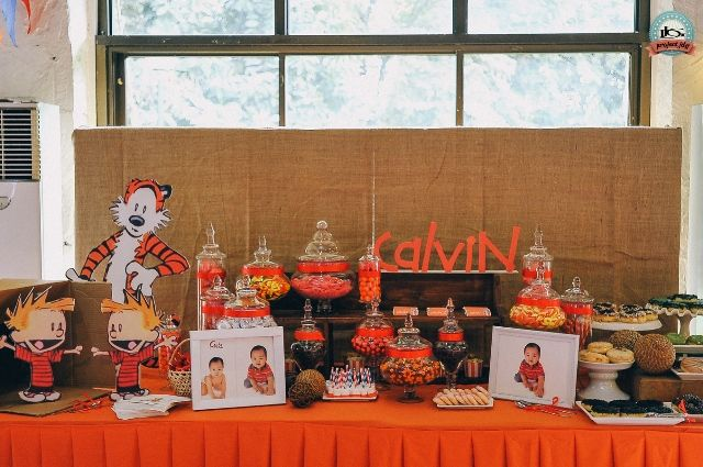 Calvin's Calvin and Hobbes Themed Party – Sweet Treats