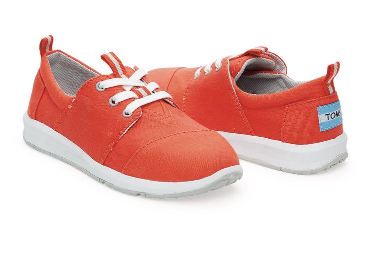 Fiesta Canvas Youth Del Rey Sneakers | TOMS