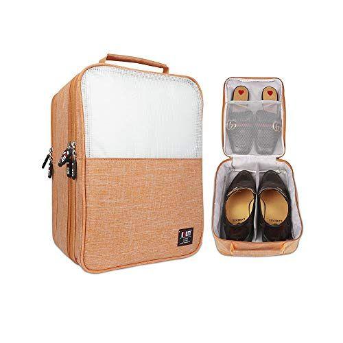 9a219276a489 Shoes Bag Travel Organizer, BUBM Three Layers Shoes Storage Bag Case ...