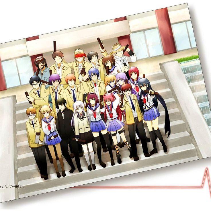 Angel Beats (The saddest anime ever)
