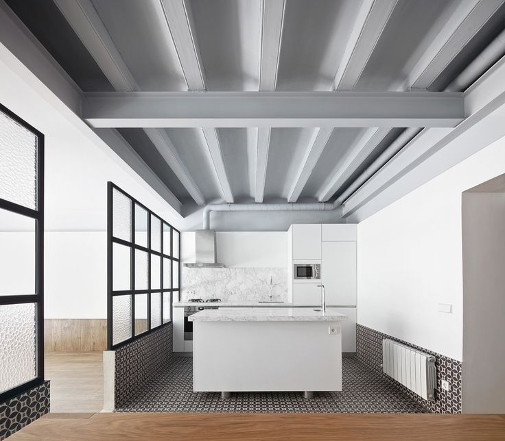 Tamarit Apartment by RAS Arquitectura // Barcelona, Spain | Yellowtrace