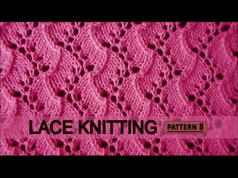 Traveling Vine | Lace Knitting Pattern #8 - YouTube