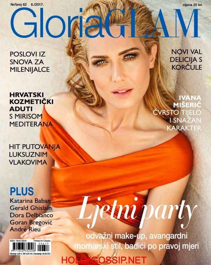 Ivana Miseric covers Gloria Glam Magazine [Croatia] (June 2017) http://ift.tt/2qYOXbP