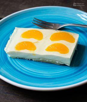 Mandarinen-Schmand-Kuchen vom Blech   Madame Cuisine Rezept