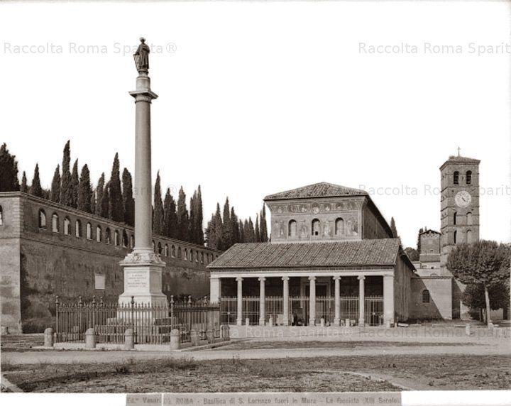 Basilica di San Lorenzo fuori le Mura Anno: 1880 ca.-1910 ante