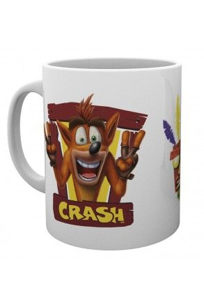 Crash Bandicoot Peace Frame Mug
