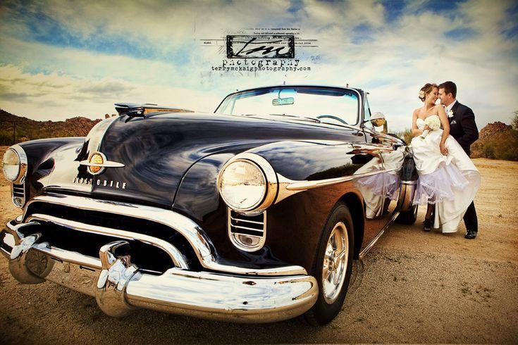 wedding / car