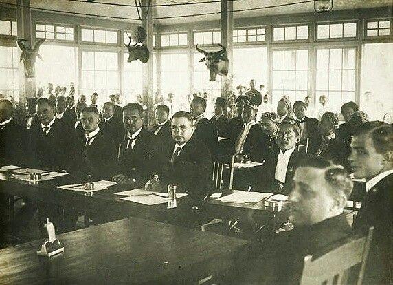Eerste vergadering van de regentschapsraad van Garoet. 1926-1929