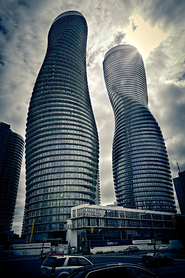 Here 39 s another look at absolute towers in mississauga for Architecture firms mississauga