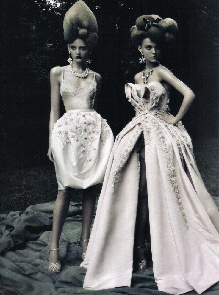 """A Dream of a Dress"" by Paolo Roveri | Vogue Italia"