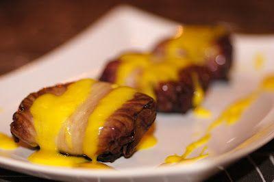 I bocconcini di radicchio con risotto alla salsiccia profumata di paprika e salsa allo Zafferano Persian Platinum